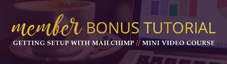 Getting Setup with Mailchimp Mini Video Course