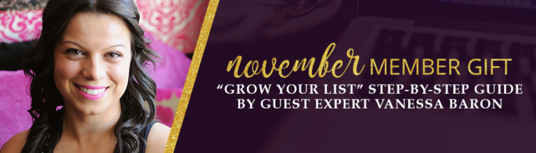 Grow Your List Step-by-Step Guide