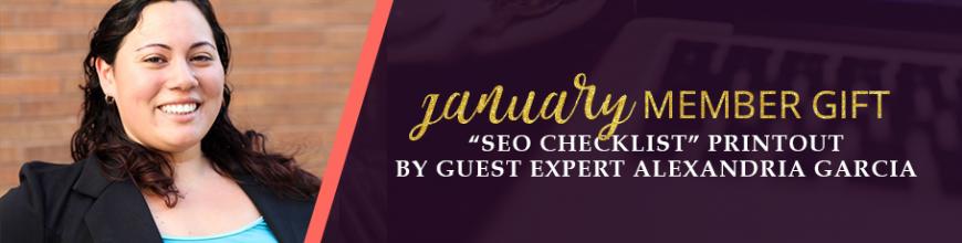 SEO Checklist Printout