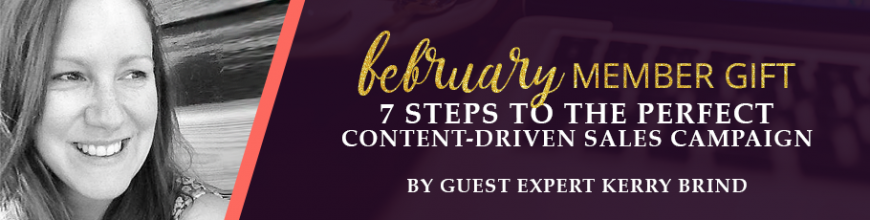 7 steps to the perfect content-driven sales campaign